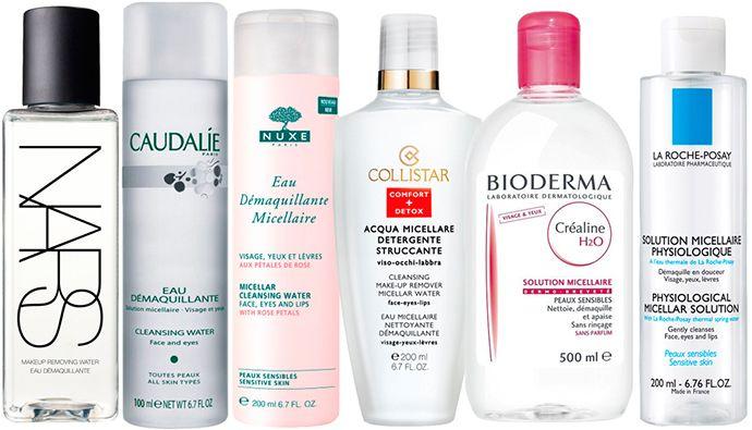 Появившаяся в Европе и набирающая популярность мицеллярная вода - средство для снятия макияжа, которое подходит даже самой чувствительной коже. Такая вода содержит в себе микрочастицы мицеллы - сложные эфиры жирных кислот, которые очищают кожу, удаляя загрязнения и жир с ее поверхности, не повреждая эпидермис и не вызывая аллергических реакций. Быстрое и эффективное средство для демакияжа не нужно смывать, оно тонизирует и смягчает кожу, придавая ей свежесть.