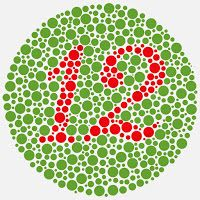 GAMBAR TEST BUTA WARNA-HURUF TOKEK-ISHIHARA-COLOURBLINDNESS | freewaremini