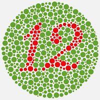 GAMBAR TEST BUTA WARNA-HURUF TOKEK-ISHIHARA-COLOURBLINDNESS   freewaremini