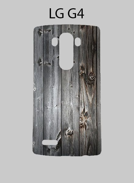 Grey Vintage Wood Textures LG G4 Case Cover