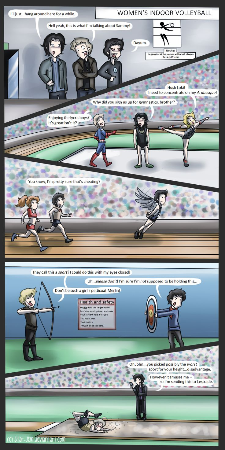 The fandoms at the Olympics