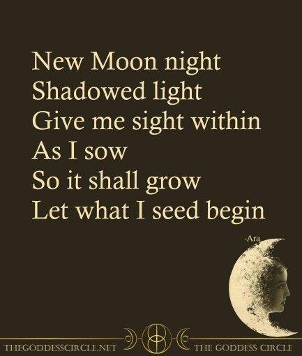 New Moon Ritual                                                       …
