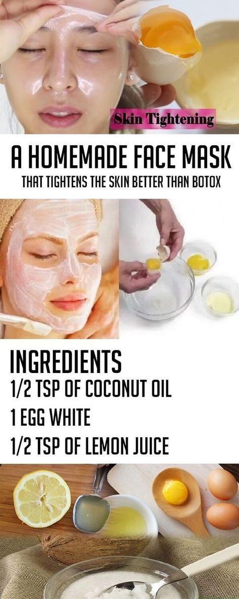 A Homemade Face Mask That Tightens The Skin Better Than Botox – All Just You #beauty #skin #care