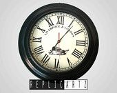 LIVERPOOL & LONDON wall clock replica by replicartz on Etsy, $65.90 USD