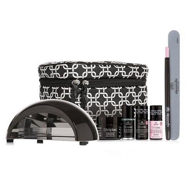 alessandro® Striplac Beauty Bag mit LED-Lampe Farbe & Zubehör 8tlg.