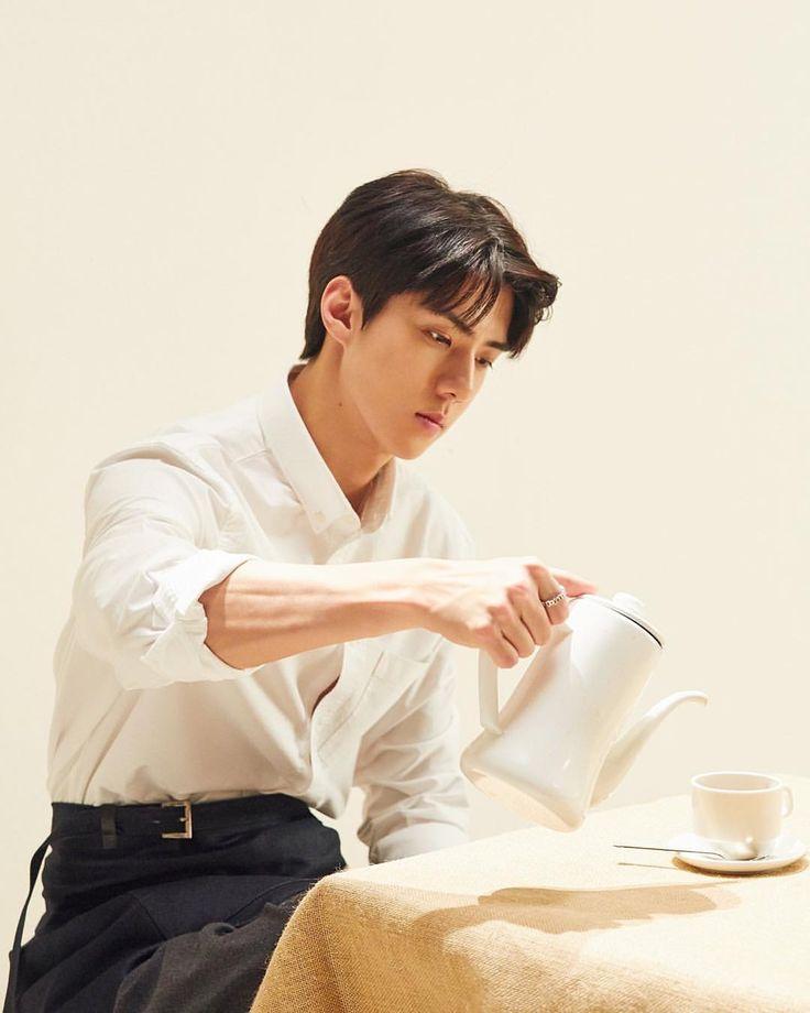 """642 Likes, 5 Comments - EXO KAI 카이 (@jonginnex) on Instagram: """"EXO """"UNIVERSE"""" Winter Album Sehun Photo - - - - - #sehun#exo#세훈#엑소 #cafe_universe"""""""