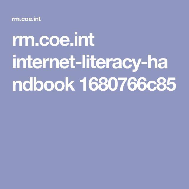 rm.coe.int internet-literacy-handbook 1680766c85