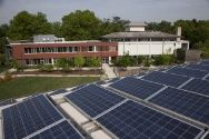 CLIMATE CHANGE MITIGATION: Sidwell Friends School has been recognized by US Green Building Council for its amazing efforts to take advantage of natural resources while lessening their impact.