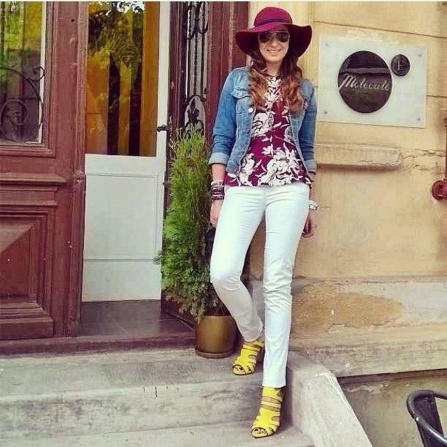 Proudly wearing romanian designers! #molecule-f.com #zara #mango #lesilla #hm