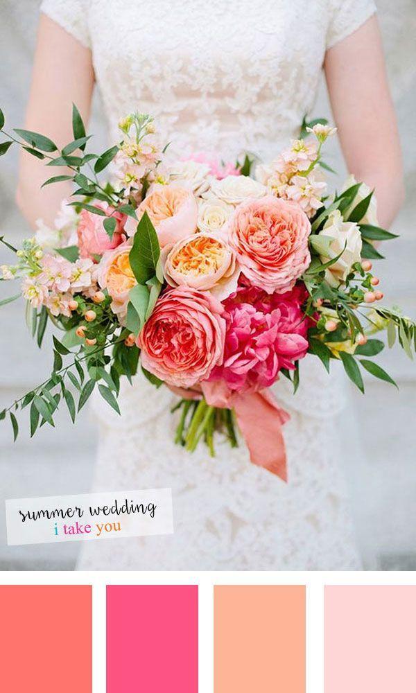 Summer wedding colors: 10 fresh color combinations …