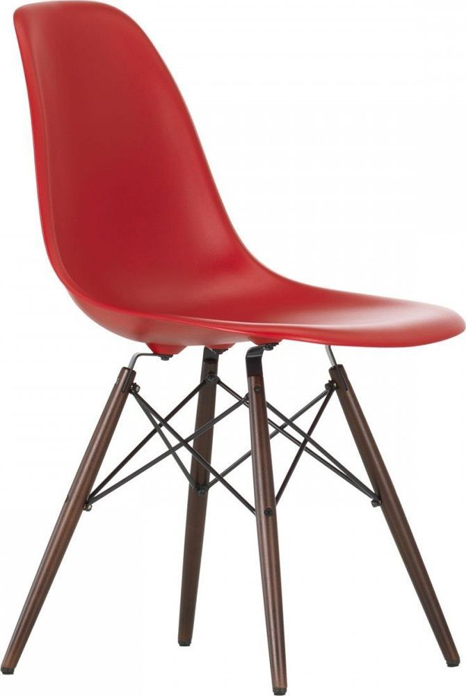 Chaise Vitra Plastic Chair Dsw Charles Et Ray Eames En 2020 Eames Chaise Dsw Et Coussin Assise