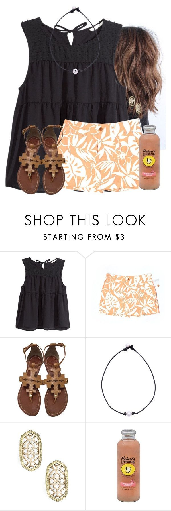 """""""EDSFTG"""" by flroasburn ❤ liked on Polyvore featuring H&M, Vineyard Vines, Tory Burch, Kendra Scott and Hansen"""