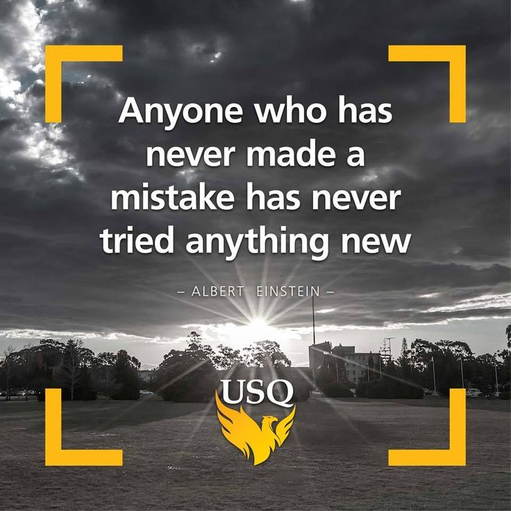 Don't be afraid of trying new things or making mistakes! #yougotthis #usqstudy #motivation