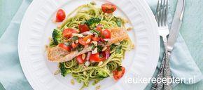 met dit pastarecept met broccoli en zalm zet je makkelijke en gezonde maaltijd op tafel