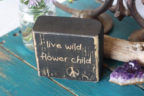 Hippie-Dekor Blumenkind Leben Wild Boho-Dekor von DaisyThirteen