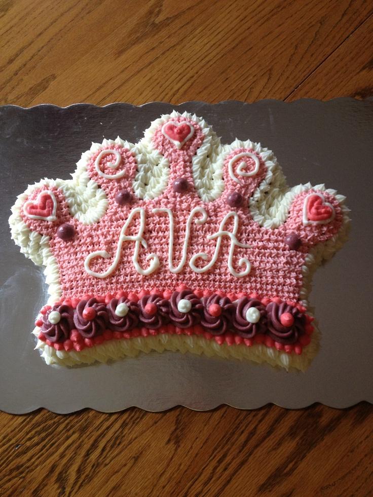 3rd Birthday Princess Crown Cake Using Wilton Cake Pan