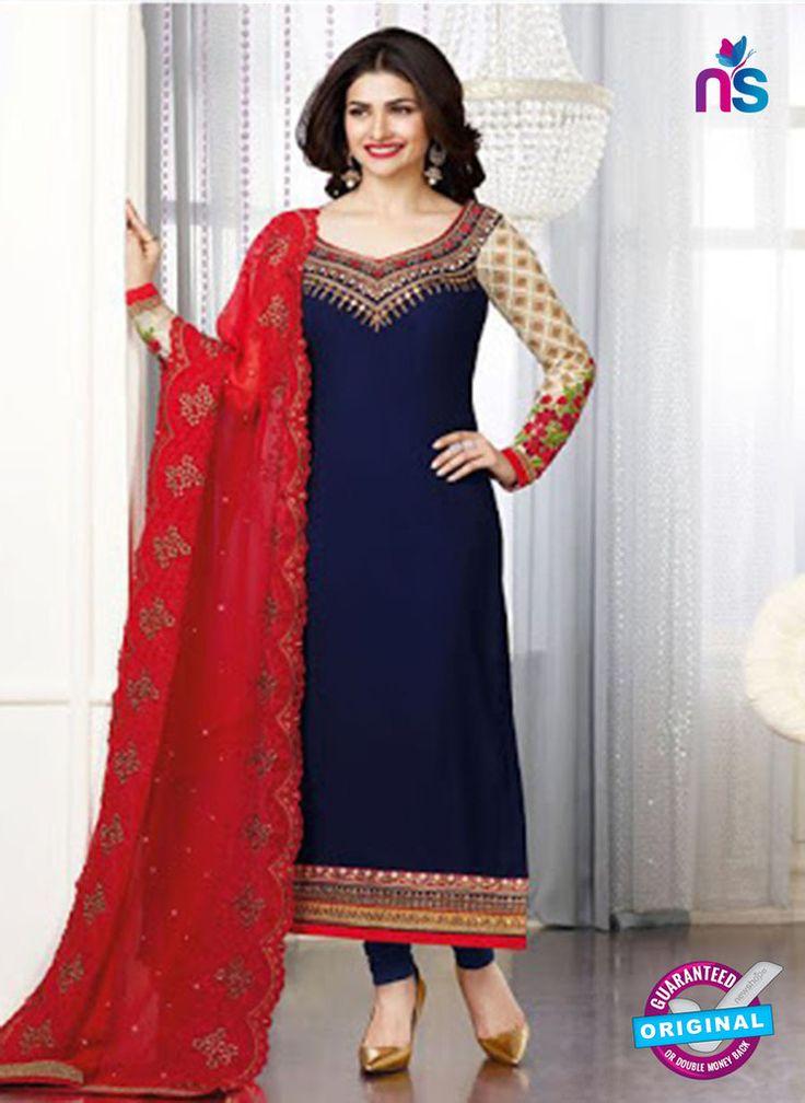 Vinay Fashion 3663 Blue Georgette Party Wear Suit