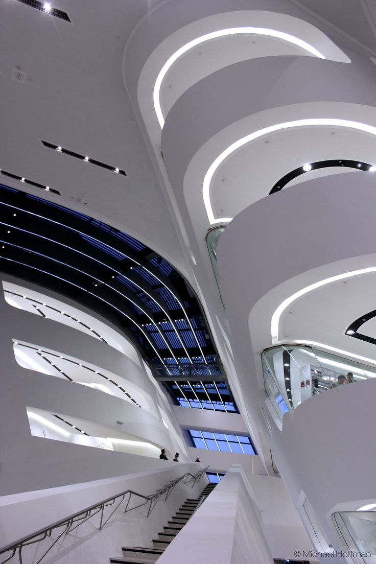 Zaha Hadid Library / New WU Campus  Wien