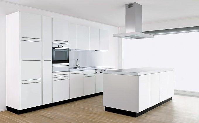 FORSTER - Schweizer Stahlküchen Purist Kitchen Renovation Ideas - moderne kuchen forster