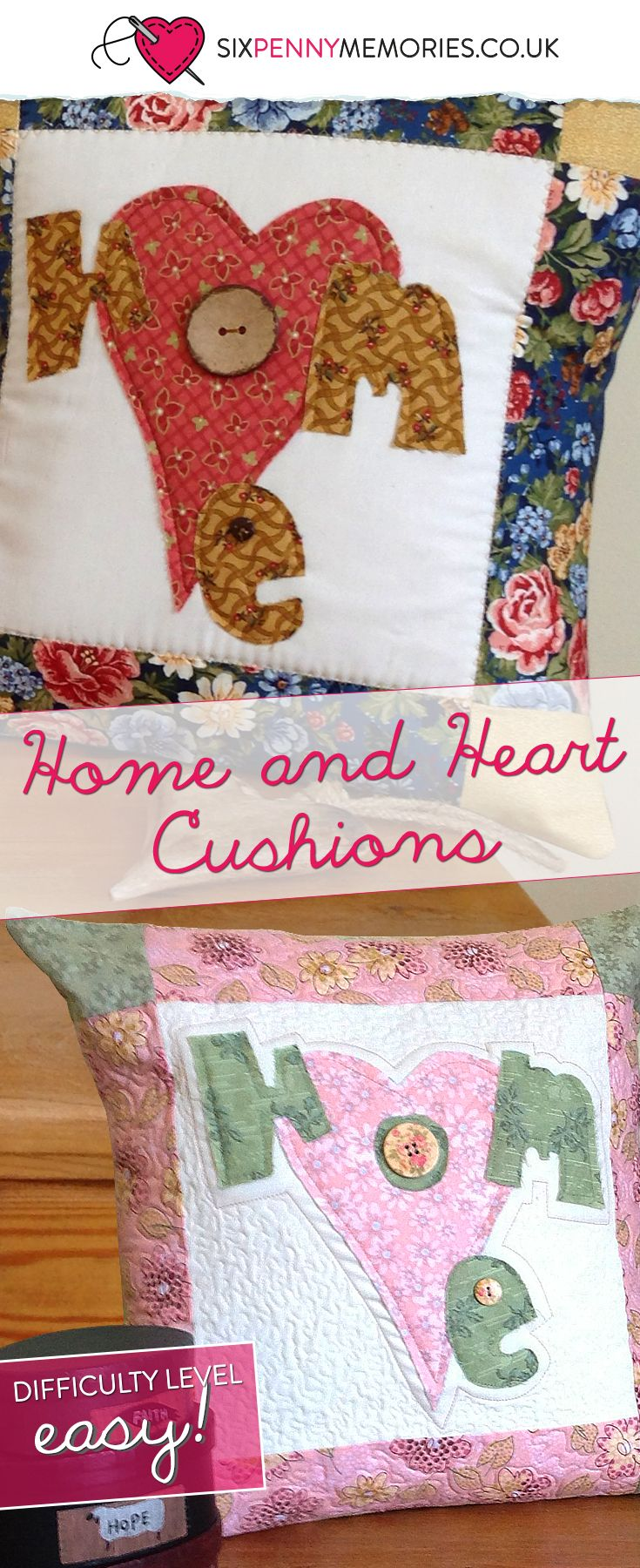 Home and Heart cushion