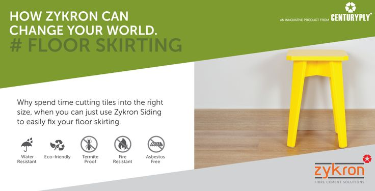 Zykron contains Fibre Cement composite material that is made by combining cement and cellulose fibres. This composite gives Zykron a unique finish, which makes it the ideal choice for your indoor and outdoor construction needs.