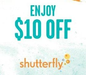 Shutterfly Coupon Code: $10 off $10 Purchase!