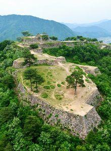Takeda Castle Ruins, Hyogo, Japan 竹田城跡