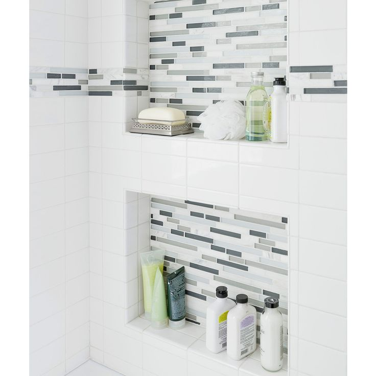 find this pin and more on bathroom shower wall niche