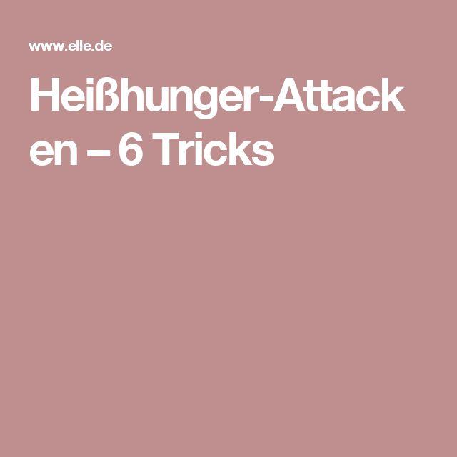 Heißhunger-Attacken – 6 Tricks