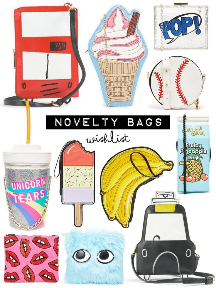 The best novelty bags of the season!