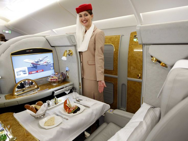 The world's 10 favourite international airlines 2. Emirates