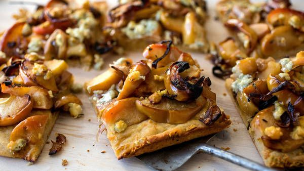 Roasted Apple, Shallot and Blue Cheese Tart - Recipes - The New York ...