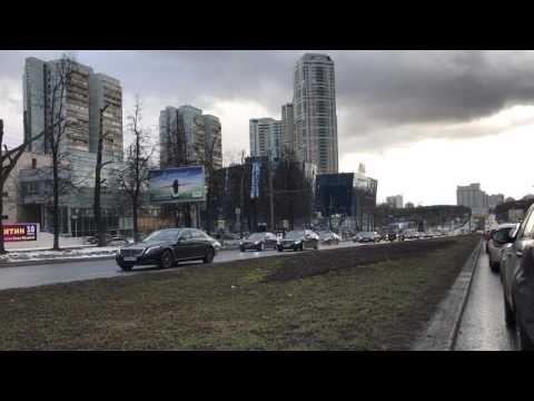(431) Кортеж Путина 2017. Аэросъемка с Коптер. Жесть смотреть всем - YouTube