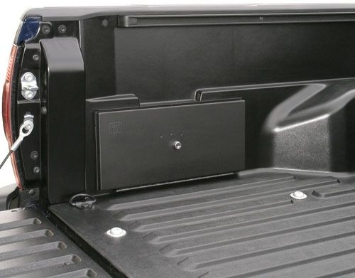 this 16gauge steel security box replaces the plastic factory storage unit located in the - Lockable Storage Box