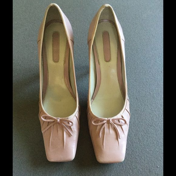 "Enzo Angiolini Blush Pink Ballet Heel FINAL Blush Pink Ballet Heel. Size 9 Heel 3 3/4"" Host Pick 9/23 Hello Fall by @becka23503 Enzo Angiolini Shoes"