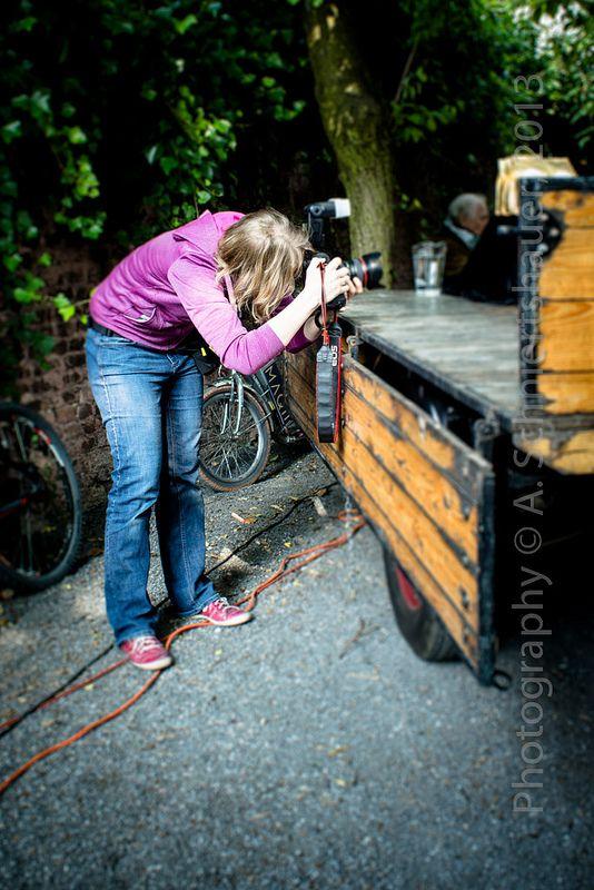photographer @ work