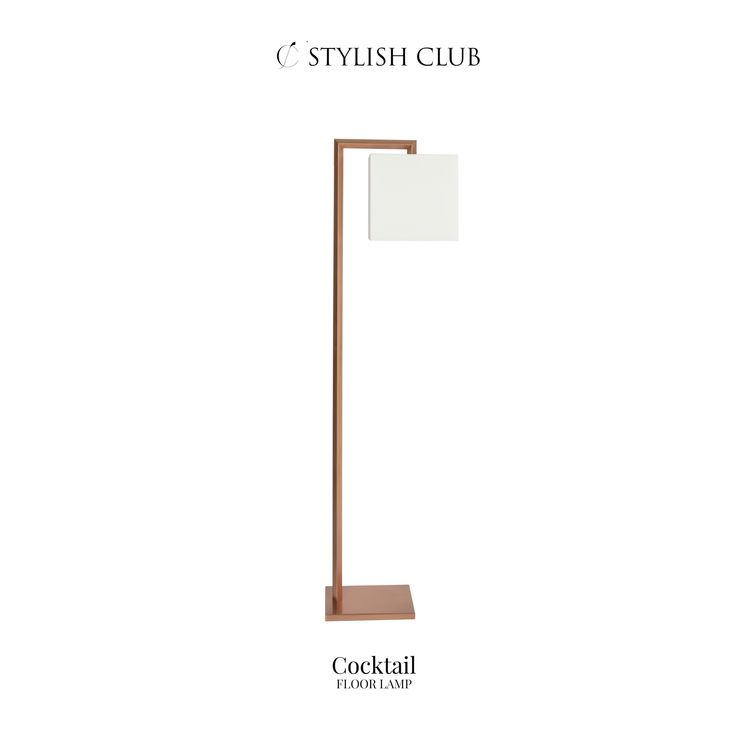 While turning ordinary rooms into spectacular home interiors and adding a unique look to your environment, the Cocktail floor lamp represents also the elegance and style of Stylish Club.