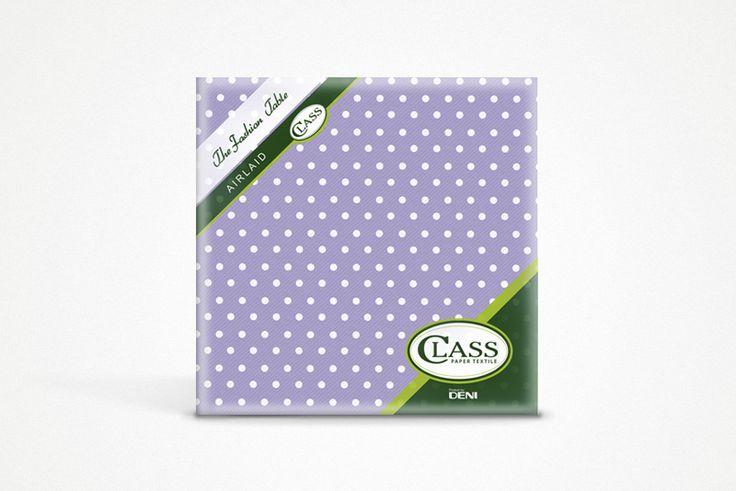 Un pattern semplice color lilla. Usalo per dare un tocco provenzale alla tua tavola. www.classairlaid.com