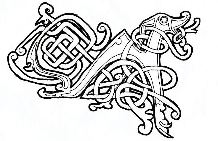 celtic dog 01 by spunkymonkey
