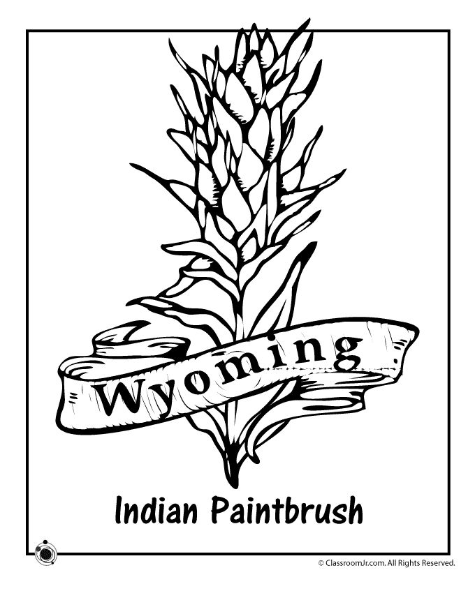 trees and indian coloring pages - photo#36