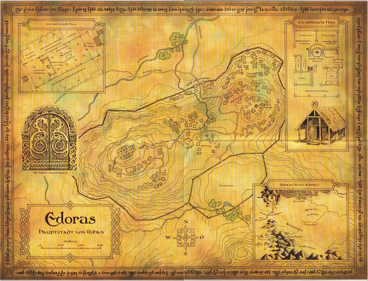 map of middle earth tolkien