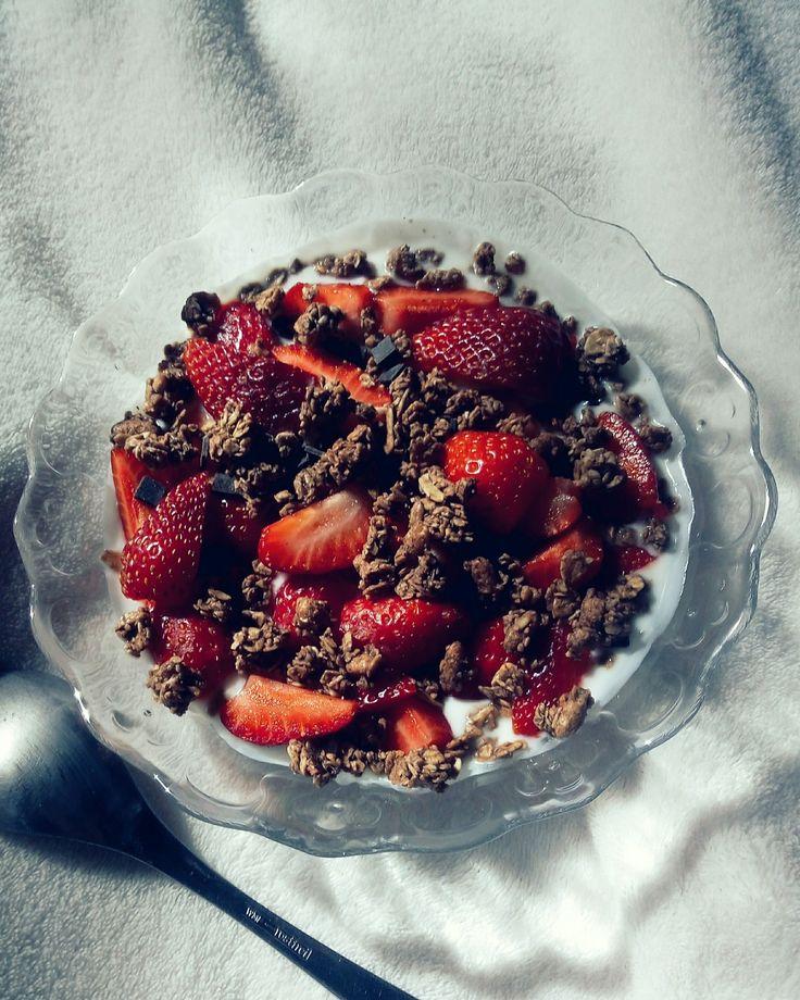 strawberrys on chocolat