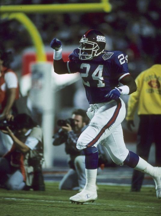 "Super Bowl XXV photos: Giants vs. Bills Otis ""O.J."" Anderson"