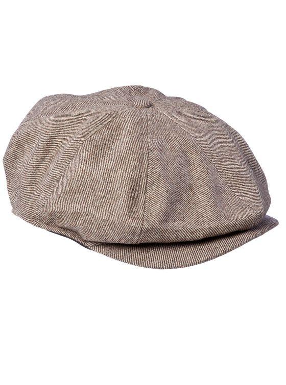 THE BUMPY MK2- Brown  Woollen 8-panel baggy cap