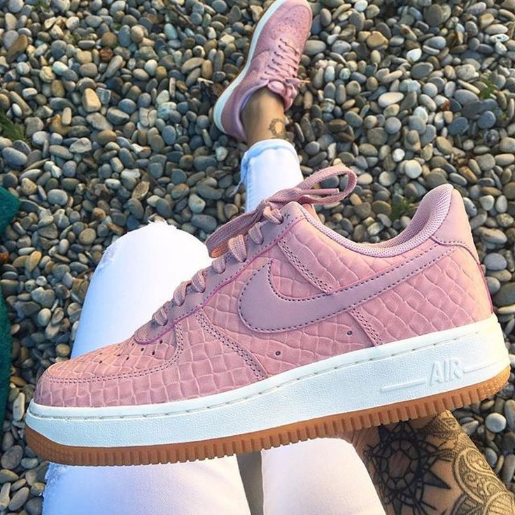 "damskie nike air force 1 '07 premium ""pink glaze"