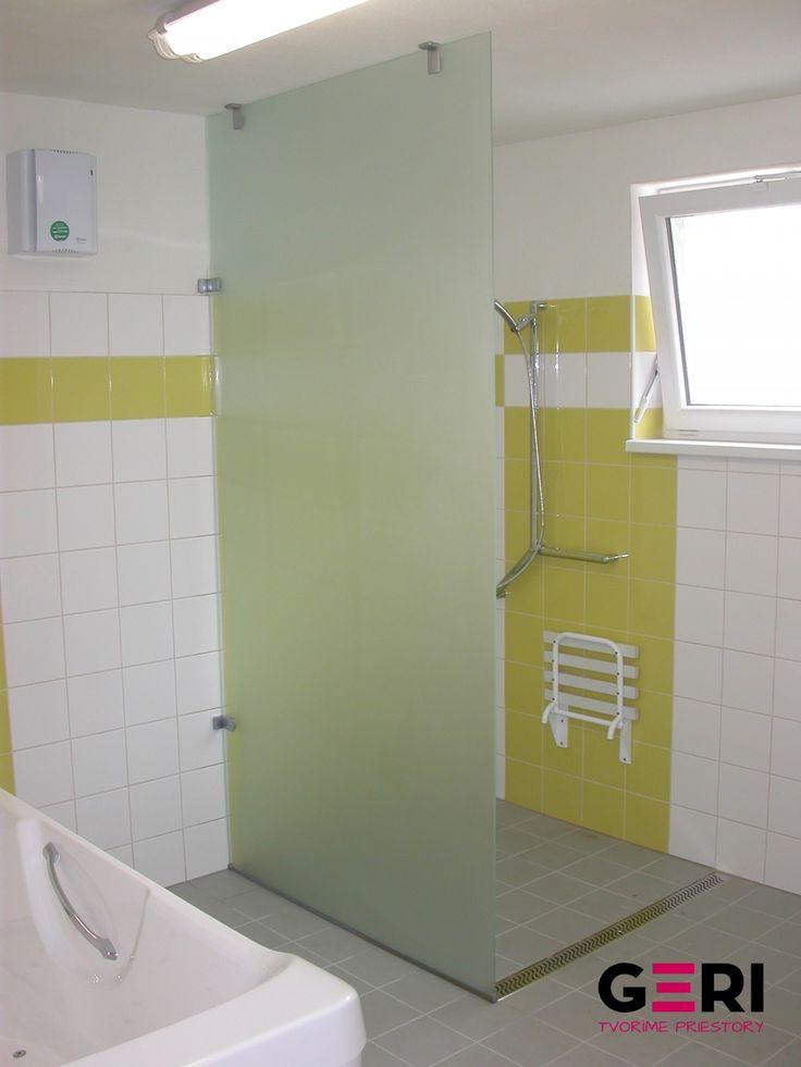 Sklenená sprchová zástena, Bratislava