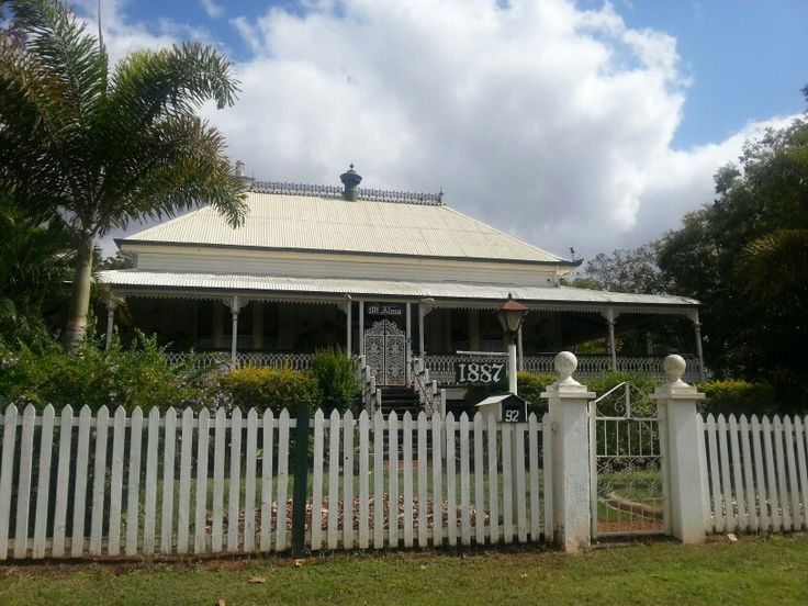 Old Queenslander in Charters Towers outback Queensland .