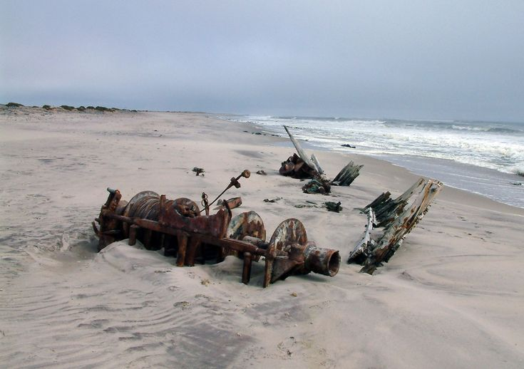 Explore the desolated Skeleton Coast, Namibia
