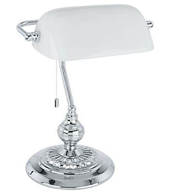 Banker Lampe de bureau H39cm style lampe banquier
