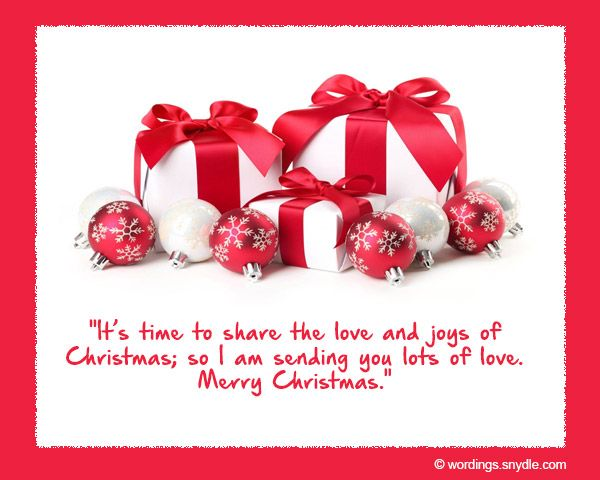 Short Christmas Wishes For CardsShort Christmas Wishes For Cards: Christmas is a time to show affection, appreciation and love. During this time, people exchange gifts and sentiments. Sometimes a simple Christmas quotes can go a long way in showing your love and gratitude to…
